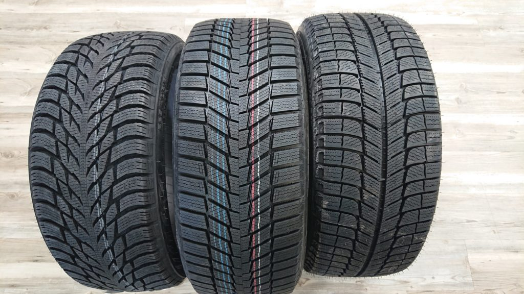Nokian, Continental, Michelin Tires