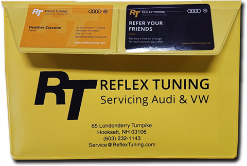 Free Registration Holder at Reflex Tuning Audi VW Shop
