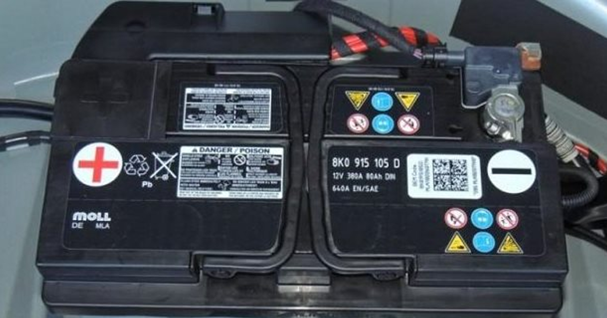 Audi/VW Battery Replacement